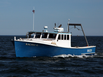 Former 40-foot lobster vessel outfitted for offshore equipment testing & survey