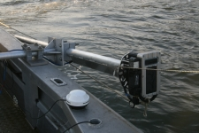 MB1 Multibeam Mounted on R/V Lophius